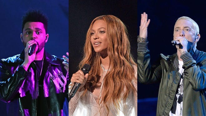 REPORTS: Eminem and The Weeknd join Beyoncé as Coachella 2018 headliners.