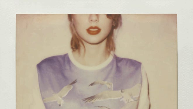 The cover of Taylor Swift's new album, '1989.'