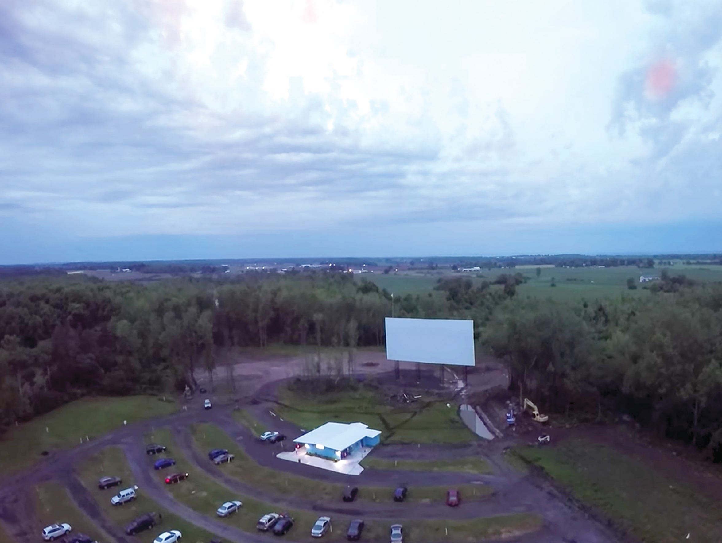Finger Lakes Drive-In in Auburn.