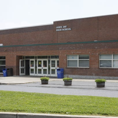 John Jay High School in Cross River