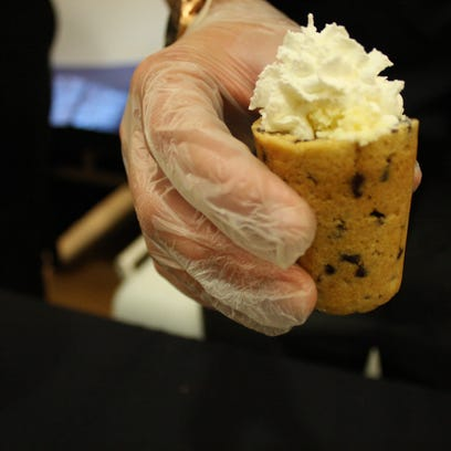 """The """"Cookie Cup,"""" invented by a group of Johnson City"""