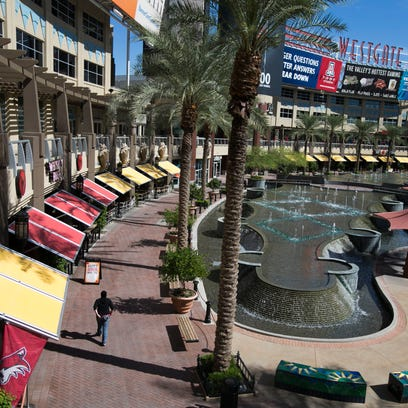 Westgate Entertainment District in Glendale on Oct.