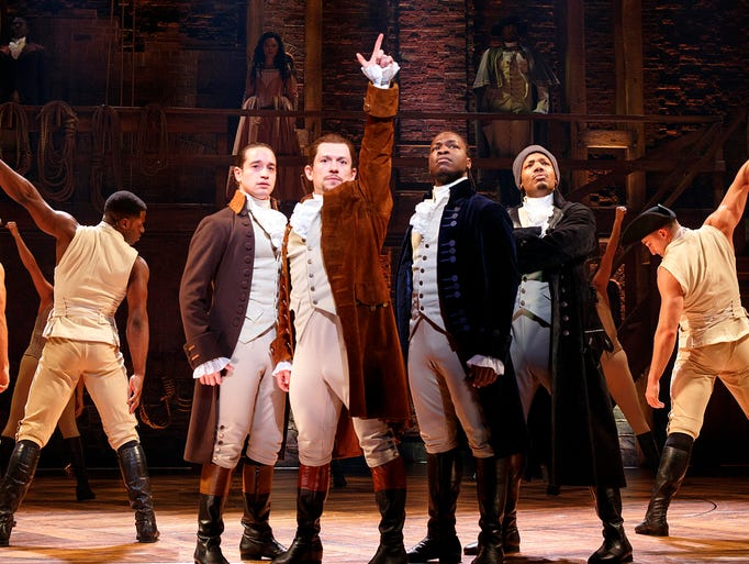 """Hamilton"" will be at the Civic Center in Des Moines"