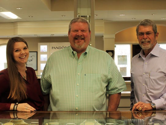 Brant Horner and his daughter, Evyn Horner Higgins will take ownership of Holland Jewelry Co. this year from current CEO, Bill Holland.
