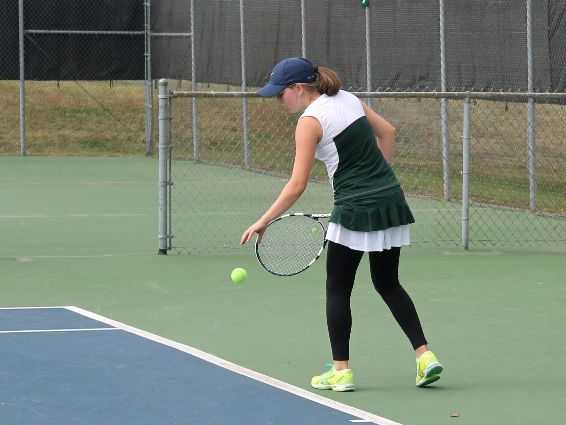 Springfield Catholic sophomore Anna Rader placed fourth at the state tennis tournament. She finished the season 33-2.