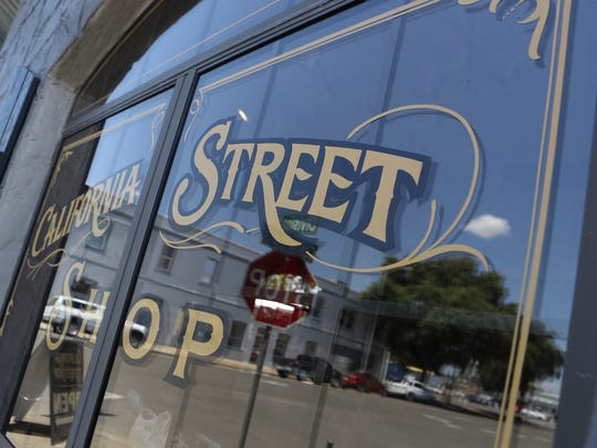 Men's clothing store California Street Shop in downtown Redding has moved online. Retail stores are finding the e-commerce model more appealing in a post-recession economy.
