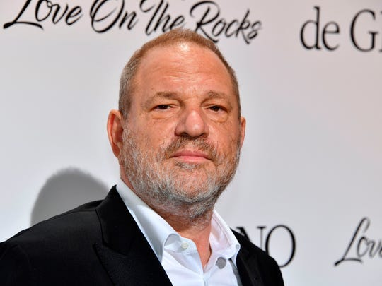 Harvey Weinstein on May 23, 2017 at Cannes Film Festival