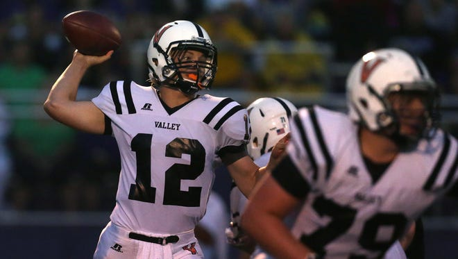 Rocky Lombardi and the Valley Tigers should challenge Dowling Catholic's Class 4-A supremacy.