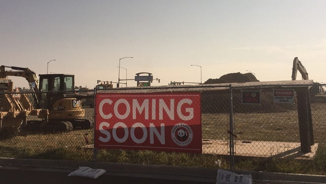 Construction is underway on Panda Express northeast of Walmart on 10th Avenue South in  Great Falls.