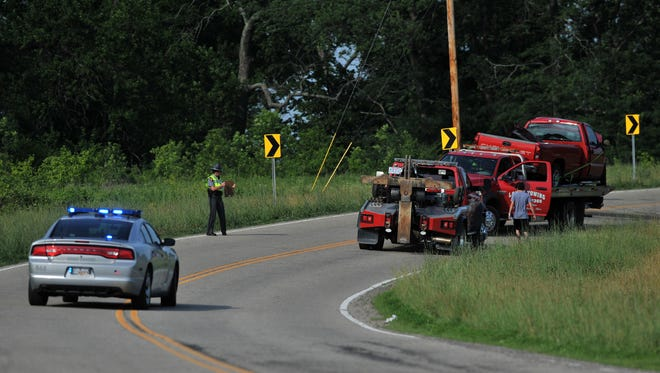One person died Thursday in a head-on collision on Pleasantville Road near Carroll Northern Road on June 11.