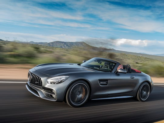 Usa Today Review Amg Gt C Roadster