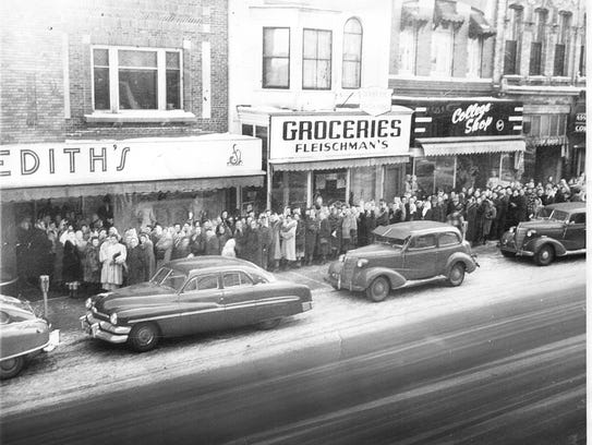 A photo of Edith's during the 1950s.