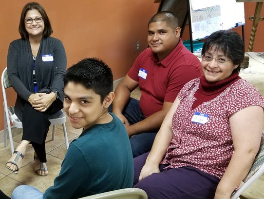 """Group photo from top: Minerva """"Minnie"""" Hernandez from"""