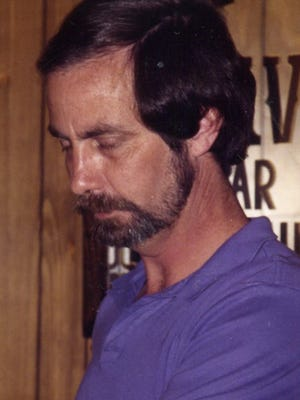 My dad, David Heupel, shown years ago when he used to run a catfish restaurant Dave's Cedar Cabin up in Florence, Ala.