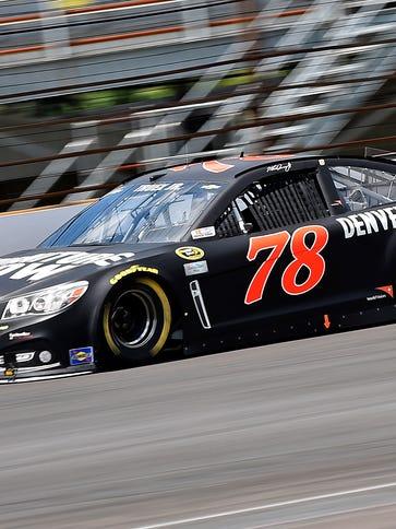 NASCAR Sprint Cup Series driver Martin Truex Jr. (78)