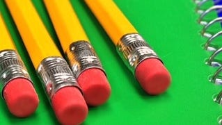 Pencils and notebook