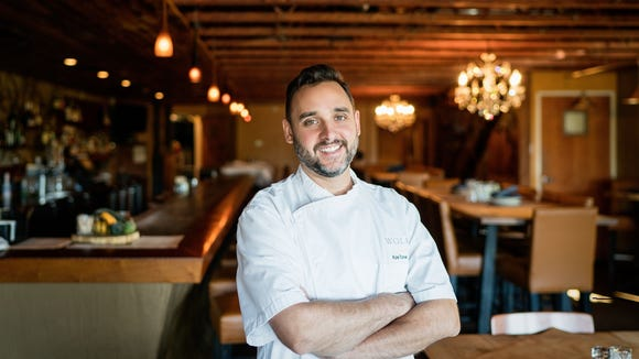 Kyle Toner, Wolf Peach's sous chef, will become its head chef in December.