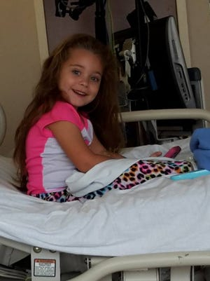 Jayla has been in and out of hospitals for the last two years.