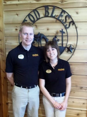Kevin and Jessica Boon, after years of managing Pizza Ranch locations, became owners in 2017.