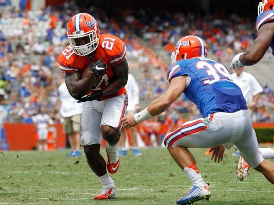 NCAA Football: Florida-Spring Game
