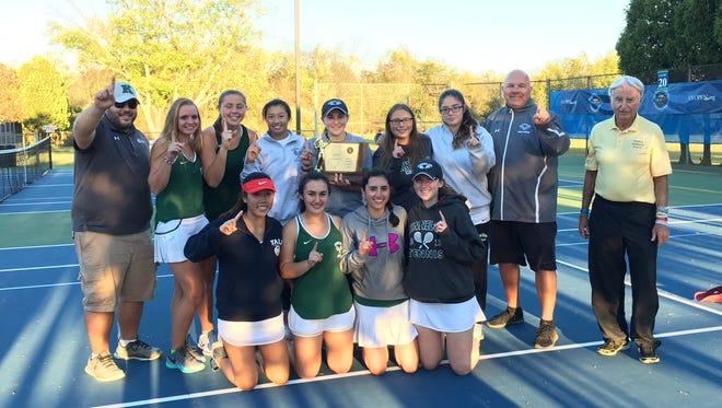 The Kinnelon girls tennis team won its first NJSIAA Group I title on Thursday.