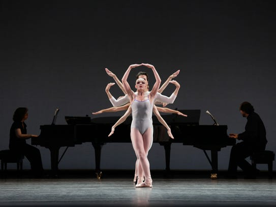 "Lydia Wellington and company members perform ""In Creases"""