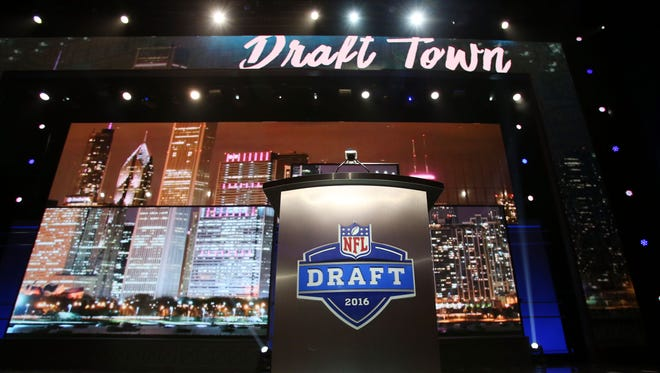 For the second straight year, the NFL draft is being held in Chicago.