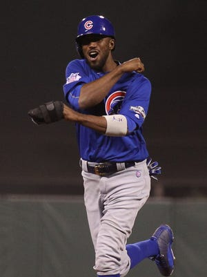 Dexter Fowler hit .276 with the Cubs this season.