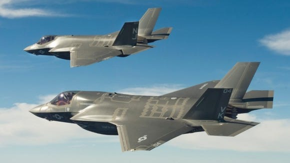 F-35 fighter aircraft are among the aircraft expected to fly over Playas, NM as part of an August training exercise.