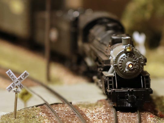 Gordon Lind of Appleton has built his model railroad