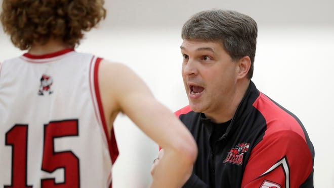 Pulaski coach Dave Shaw has the Red Raiders at No. 1 in the local rankings with a 14-2 record.