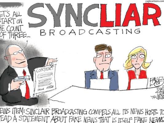 Cartoon: Sinclair Liars