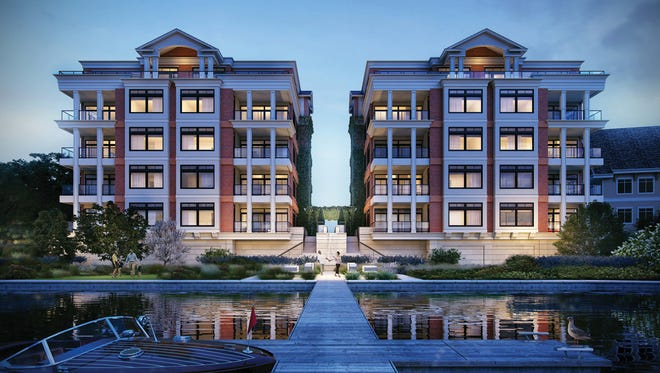 This rendering shows the planned Parc on Lac La Belle condominium development, a five-story luxury housing development that could be completed by summer 2018.