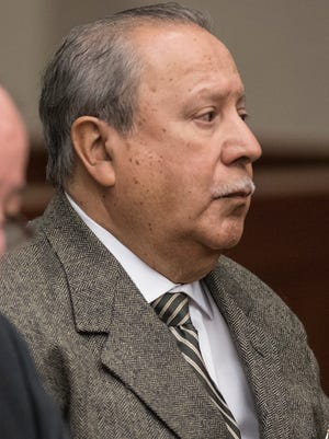 Administrative Law Judge Henry Perez listens to witness testimony during his preliminary examination in March.