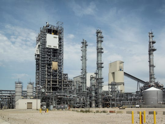 Duke Energy's new $3.5 billion coal-gasification plant in Edwardsport (seen June 12, 2013) has faced a string of construction, operating and maintenance setbacks since it opened in 2011.