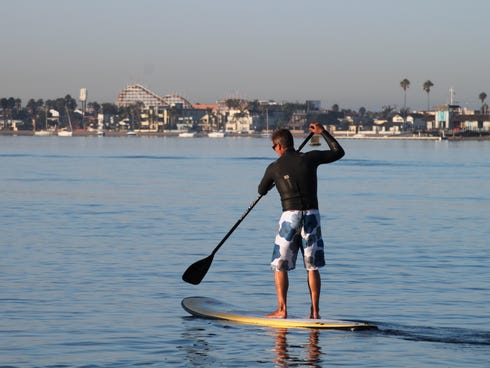 Mission Beach is the distraction attraction of SoCal, making it perfect for families.