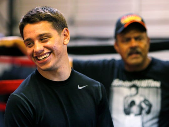 Salinas native and undefeated featherweight boxer Ruben Villa IV will be returning to Salinas for his first headline fight April 14. His bout against Colombian Marlon Olea will decide the WBO Youth Featherweight Title.