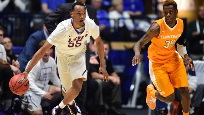 Tim Quarterman, shown during his LSU career, allegedly took money from an agent during his college career, which is a violation of NCAA rules.