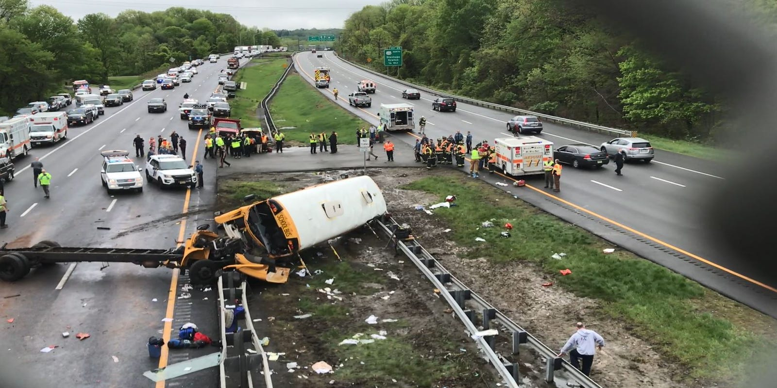 Accident on route 40 nj today