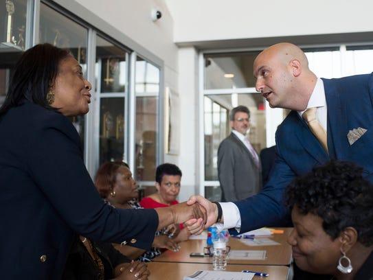 From left, Deborah Washington, DPSCD supervisor for