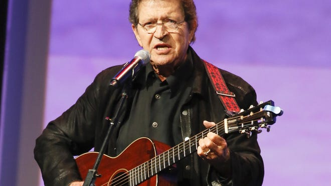 Musician Mac Davis performs at the Texas Film Awards on Thursday, March 6, 2014 in Austin, Texas.