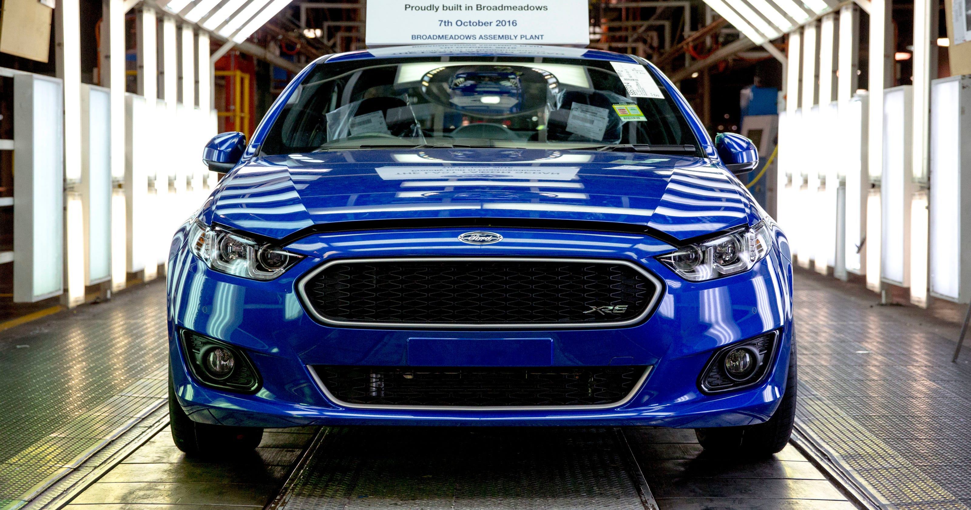 After 91 years fords australian car production ends