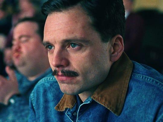 """Sebastian Stan plays Jeff Gillooly in """"I, Tonya."""""""