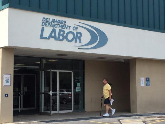 The Delaware Department of Labor in the 4400 block of Market St. in Wilmington. The Office of Anti-Discrimination inside the building is investigating claims of racial discrimination by state employees.