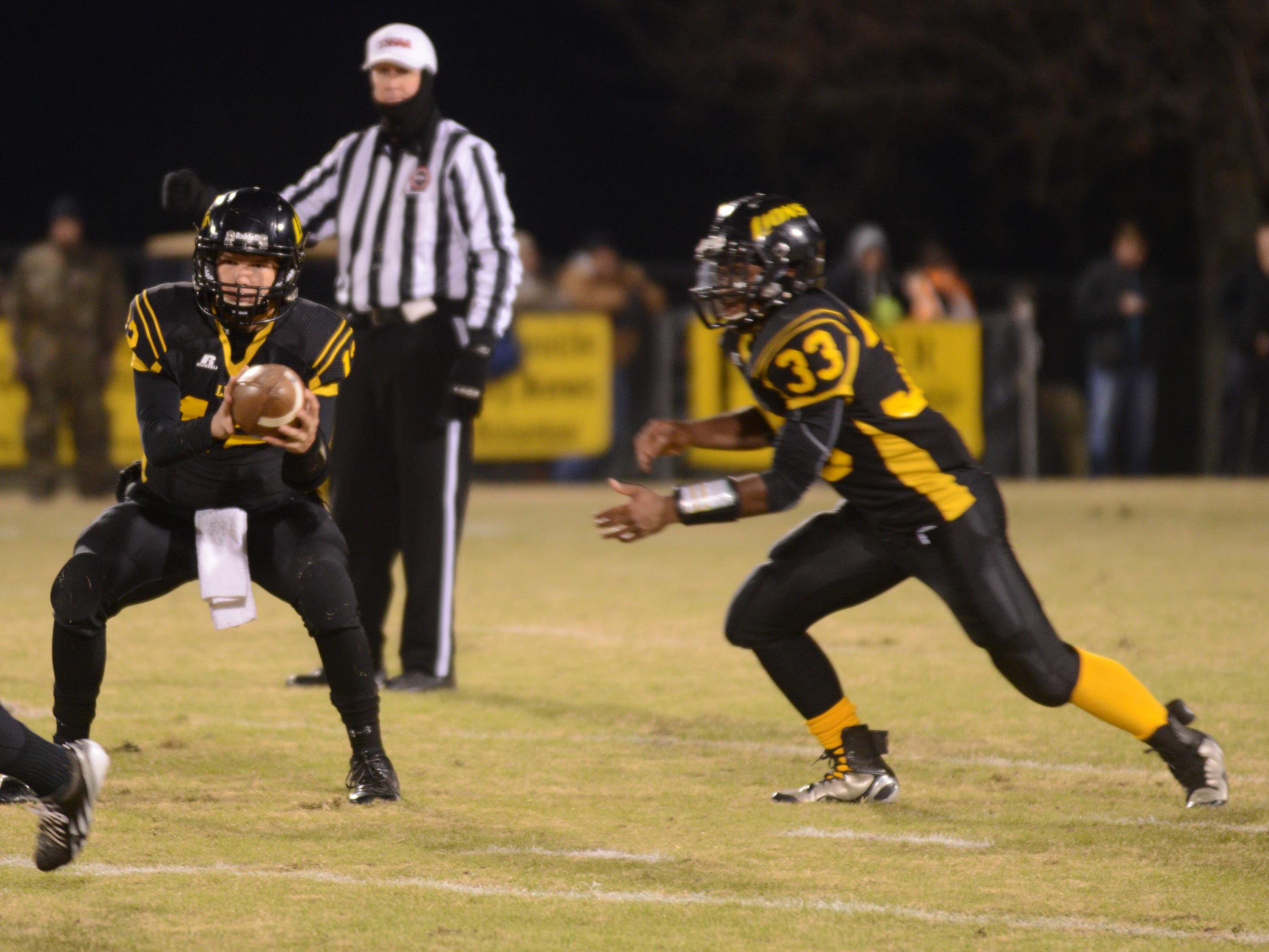 Camden running back Deshawn Brown (33) returns, but the 2015 team's defense is young.