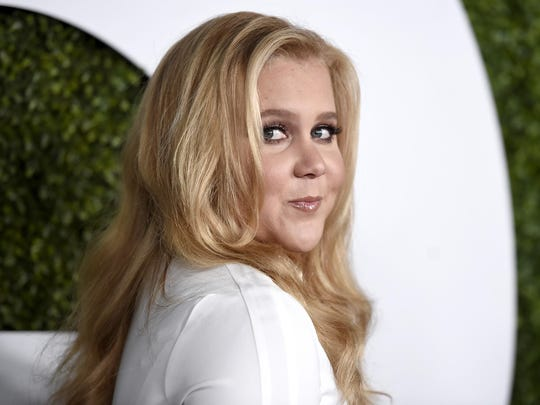 "Amy Schumer starred in her own comedy, ""Train Wreck,"" and signed a multi-million dollar memoir deal."