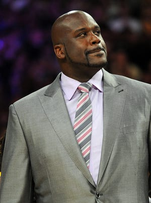 Shaquille O'Neal is an NBA studio analyst for TNT.