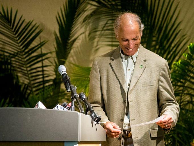 Thane Maynard, director of the Cincinnati Zoo & Botanical