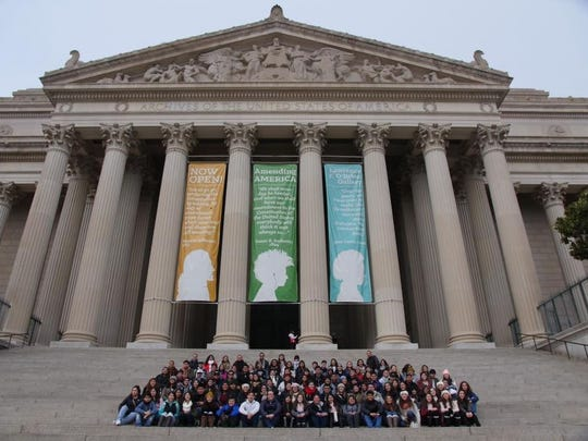 Students from the Salinas Valley Dream Academy are touring Washington DC this week.