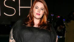 Model Tess Holliday at an event in March.